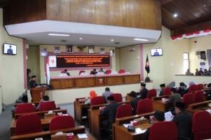 Pemkab Lambar Ajukan 4 Raperda kepada DPRD