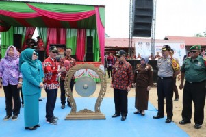 Pemkab Lambar Launching Website Pekon