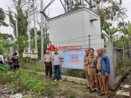 Pemkab Lambar Tutup Menara Telekomunikasi Milik PT Gihon