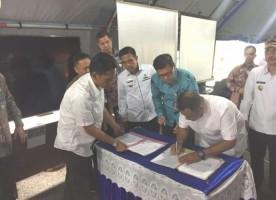 Pemkab Lamsel-Bank Lampung Teken MoU Penerapan Tapping Box