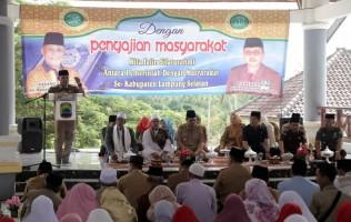 Pemkab Lamsel Gelar Pengajian Dan Doa Bersama