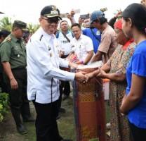 Pemkab Lamtim akan Bantu Perbaikan Rumah Korban Angin Puting Beliung