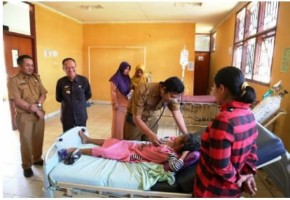 Pemkab Lamtim Bantu Pengobatan Penderita Penyakit Kompilkasi