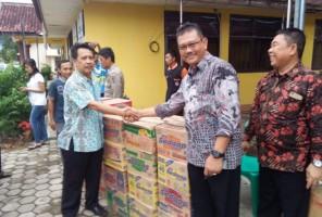 Pemkab Pesawaran Salurkan Bantuan untuk Korban Tsunami Pulau Legundi
