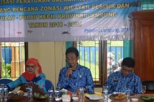 Pemkab Pesisir Barat Gelar Sosialisasi Perda Zona Pesisir dan Pulau Kecil