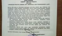 Pemkab Pesisir Barat Terbitkan Surat Edaran Larangan Praktek LGBT