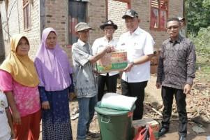Pemkab Pringsewu Beri Bantuan Korban Bencana Puting Beliung