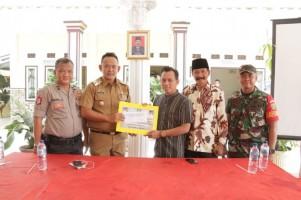 Pemkab Pringsewu Salurkan Dana Hibah ke Masjid Baitussalam
