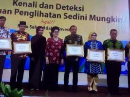 Pemkab Tanggamus Raih Penghargaan Eliminasi Malaria
