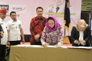 Pemkab Tuba dan Kemenkumham Lampung Teken MoU di Bidang Hukum