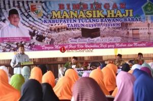 Pemkab Tubaba Tanggung Ongkos Transit 215 Jemaah Calon Haji ke Tanah Suci