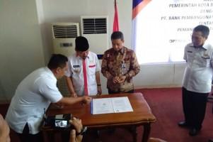Pemkot Bandar Lampung-Bank Lampung MoU Pemasangan 400 Tapping Box