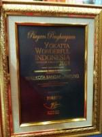 Pemkot Bandar Lampung Raih Penghargaan Yokkata Wonderful Indonesia
