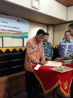 Pemkot Metro MOU Dengan BPJS Bandar Lampung