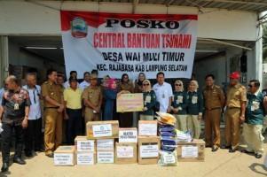 Pemkot Prabumulih Salurkan Bantuan untuk Korban Tsunami Lamsel