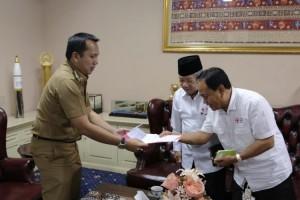 Pemprov Lampung Bersama PMI Kumpulkan Bantuan Korban Gempa Sulteng