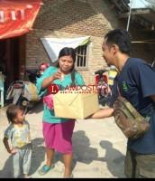 Pemuda Desa Pasuruan Galang Dana untuk Korban Gempa Sulteng