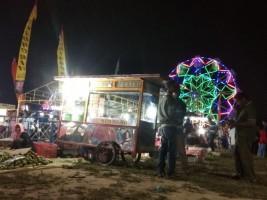 Pemuda Kedaton Tujuh Desa Sabahbalau Gelar Pasar Malam