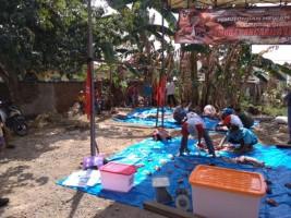 Pemuda Pancasila Potong Kurban 2 Sapi dan 6 Kambing