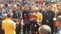 Pencak Silat Kuttau Sambut Kedatangan Gubernur di Lamtim