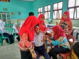 Pencapaian Imunisasi MR Lampung Selatan Terendah di Lampung