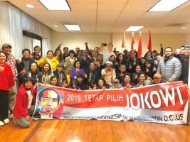 Pendukung Jokowi-Amin di Washington Gelar Silaturahmi