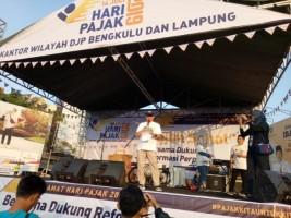 Penerimaan Pajak DJP Bengkulu Lampung Capai 40 Persen