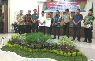 Pengadilan Negeri Tanjungkarang TandatanganiPakta Integritas untuk Cegah KKN