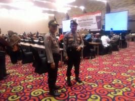 Pengamanan Pleno KPU Provinsi Berlangsung Kondusif