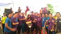 Penghafal Quran Raih Hadiah Motor Jalan Sehat Dies Natalis FKIP