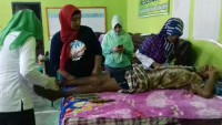 Pengungsi di Posko Totoharjo Mulai Terserang Penyakit
