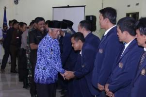 Pengurus PWI Pringsewu Periode 2018-2021 Resmi Dilantik