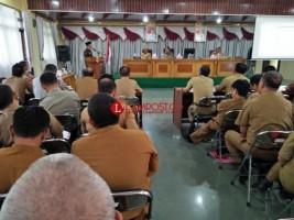 Penilaian Kepatuhan Pelayanan Publik, Ombudsman Lampung Bina OPD Lambar