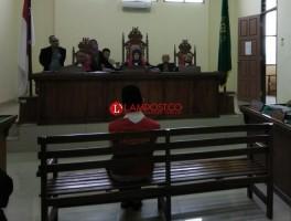 Penjual Tiga Paket Sabu Dihukum 10 Tahun Penjara