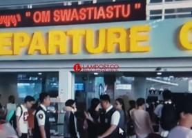 Penumpang Bandara Ngurah Rai Diangkut Bus Gratis