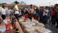 Penyelundupan Miras Senilai Rp1 Miliar Digagalkan Polres Lamsel