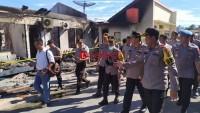 Penyebab Kebakaran Mapolres Lamsel Diduga Korsleting Listrik
