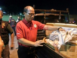 Penyelundupan Daging Celeng Digagalkan di Bakauheni