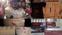 Penyelundupan Rokok Ilegal dari Jawa ke Sumatera Senilai Rp2 Miliar Digagalkan