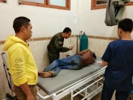 Penyerang Petugas Dengan Golok, Diringkus Polisi Lambu Kibang