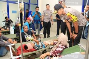 Penyerang Sopir Bus Akibatkan 12 Tewas Dikenakan Pasal Berlapis
