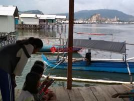 Perahu Bantuan Nelayan Pesawaran Bersandar di Bandar Lampung