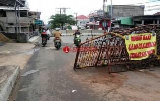 Perbaikan Jembatan di Jalan Raden Intan KaliandaDitaksir Menelan Anggaran Rp5 Miliar