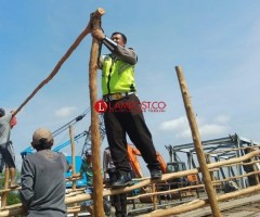Perbaikan Jembatan Penghubung Mesuji-OKI Ditarget Selesai Seminggu Lagi