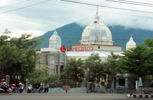 Perbaikan Masjid Agung Kalianda Tak Kunjung Rampung
