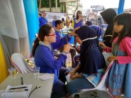 Perdami Lampung Bagikan Kacamata Gratis