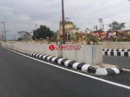 Peresmian Underpass Unila, Jalan Ditutup 2 Jam
