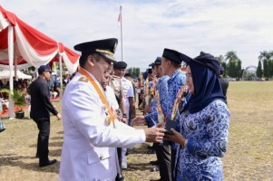 Peringatan HUT Lampung Ke-55, Gubernur Ajak Terus Berkarya