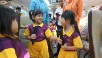 Peringati Hari Anak NasionalPT KAI Ajak Siswa Naik Kereta