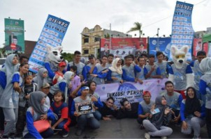 Peringati Hari Bahasa Isyarat, Gerkatin Lampung Gelar Jalan Sehat